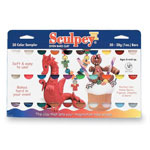 Chenille Kraft Company Sculpey Clay, Sampler Pack, Soft Pliable,30 Colors, 1 oz.