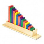 "Chenille Kraft Wood Sorting Staircase, 8"" x 15"" x 3"""
