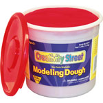 Chenille Kraft Company Modeling Dough, Non-Toxic, 3.3 lbs, Red