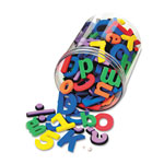 Chenille Kraft Company Magnetic Alphabet Letters, Assorted Colors