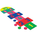 Chenille Kraft WonderFoam Hop Scotch Mat