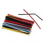 Chenille Kraft Company Stems For Classroom Art Projects, Assorted Colors