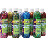 Chenille Kraft Company Glitter Chip Glue, 8/PK, Assorted