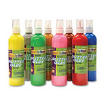 Chenille Kraft Company Glitter Glue, 8/PK, Metallic Colors/Assorted
