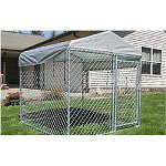 Jewett Cameron Weatherguard Kennel Cover 5' x 5'