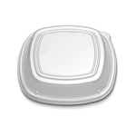 "D&W Finepack 10 1/4"" Forum Square High Dome Lid"