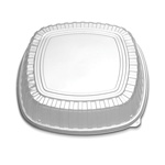 "D&W Finepack 16"" Forum Square High Tray Lid"