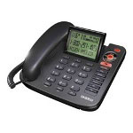 Uniden 1380BK - Corded Phone W/ Call Waiting Caller ID & Answering System