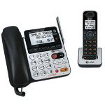 Vtech CL84100 - Cordless Phone Base Station W/ Corded Handset, Answering System & Call Waiting Caller ID