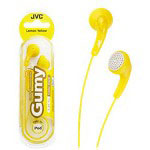 JVC HA F140-YN Gumy Phones - Headphones