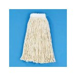 Unisan Cut End Wet Mop Heads, Cotton, White
