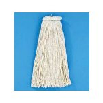 Unisan Cut End Lie Flat Wet Mop Head, Rayon, 16 oz. Size, White