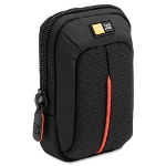 Caselogic Compact Digital Camera Case, Polyester/Nylon, 3-1/2 x 2 x 4-3/4, Black