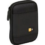 Caselogic Compact Portable Hard Drive Case, Black