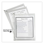 "C-Line Letter Size Zip ?N Go Expanding Portfolio with Outer Pocket, 13""x10"", Clear"