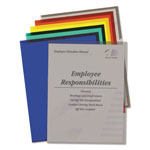 C-Line Recycled Polyproplyene Project Folders, Letter, 5 Asstd Colors, 25/Bx