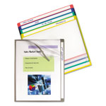 "C-Line 11"" x 8 1/2"" Assorted Write-on Project Folders"