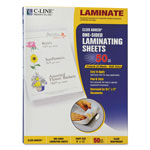C-Line Cut to Size Laminating Film, 2 mil, 9 x 12, 50 Sheets/Box