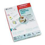 C-Line Cut to Size Laminating Film, 3 mil, 9 x 12, 50 Sheets/Box