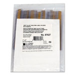 C-Line Label Holders, 1 x 6, 50 Holders/Pack