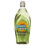 Green Works Natural Dishwashing Liquid, Original Scent, 22 Oz Bottle