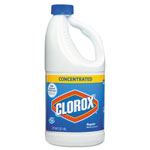 Clorox Concentrated Regular Bleach, 64oz Bottle