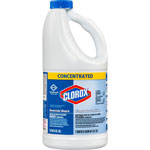 Clorox Concentrated Germicidal Bleach, Regular, 64oz Bottle