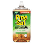 Pine Sol Squirt 'n Mop Multi-Surface Floor Cleaner, 32 oz Bottle, Pine Scent