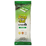 Pine Sol Wet Floor Wipes, 8 x 10, Pine Scent, 12/Pack