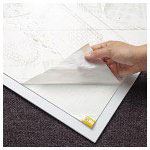 "Cleanstep Floor Mat, 25 1/2"" x 31 1/2"", White"