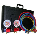 Clip Light Vision Manifold Gauge Set