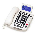 ClearPrint Clear Sound WCSC600 UltraClear Amplifying Speakerphone, White