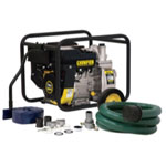 "Champion Fulfillment 2"" Semi Trash and Water Transfer Pump with Hose Kit"