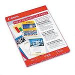 Canon Bubble Jet/Ink Jet High Res Photo Paper, 8 1/2 x 11, 100 Sheets/Pack