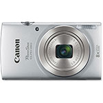 Canon Powershot ELPH180 Camera, 8X Optical, Silver