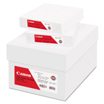 Canon Coated Two-Sided Gloss Text Paper, 8-1/2 x 11, 80 lb., White, 500 Sheets/Carton