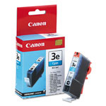 Canon Replacement Ink Tank BCI 3E for BJC 3000, 6000; i550, i850, & Others, Cyan