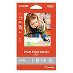 Canon GP-601 Glossy Photo Paper, 4 x 6, 56 lb, 50 Sheets/Pack