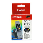 Canon BubbleJet Ink Cartridge, F/BJC4000 Series/BJC2000, Tri Color