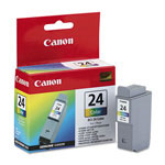 Canon Ink Cartridge Bci-24 For S200, S300, S330, I250, I320, I350, & Others, Color