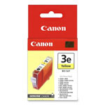Canon Replacement Ink Tank BCI 3E for BJC 3000, 6000; i550, i850, & Others, Yellow