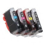 Canon Cli 8 Ink Tank For Pixma Mp510/Mp530/Mp960, 4 Colors/4 Pack