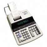 Canon CP1250D 2 Color Commercial Printing Calculator, 12 Digit, Cost/Sell/Margin
