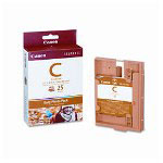 "Canon E-C25 Easy Photo Ink/Paper Set, 25 4X6"" Sheets, For Selphy Es1"
