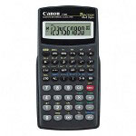 "Canon F604 Scientific, Statistical Calc., 142 Function, 3""x13/36""x6"", Black"