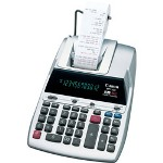 Canon MP11DX 2 Color Printing Desktop Calculator,12 Digit Fluorescent