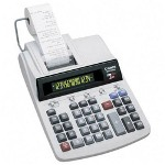 "Canon MP41DHII 2 Color ""GLOview"" Ribbon Printing Calculator, 14 Digit"
