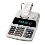 Canon MP49D 2 Color Ribbon Printing Calculator, 14 Digit Display