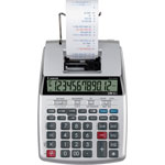 "Canon 12-Digit Printing Calculator, 6-2/5""Wx9-1/10""Lx2-1/5""H, Silver"