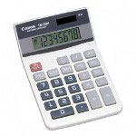 Canon TS83H Portable Desktop Calculator, Battery/Solar Powered, 8 Digit Display